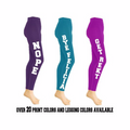 Customized Leggings | Custom Printed Leggings | 15066 (Fonts in Picture Gallery)