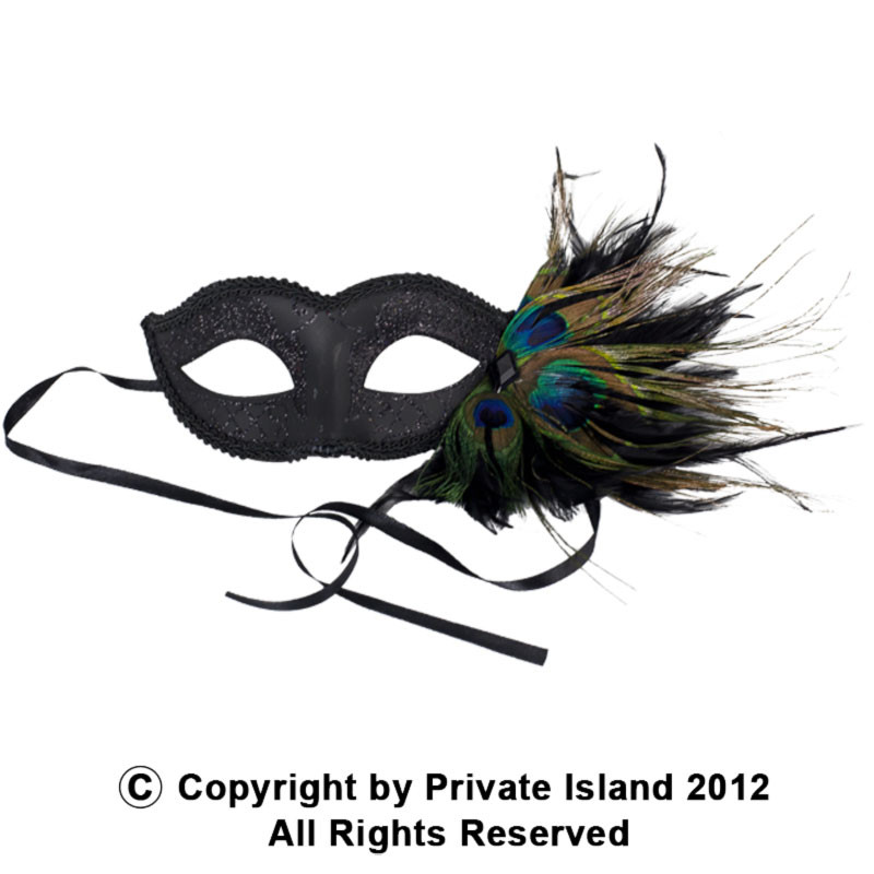 Masquerade Mask Red Heart Ornate Long Noses Party Mask Halloween Mardi Gras Mask