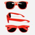 Fluorescent Pink Sunglasses   Iconic 80's Sunglasses Adult 16000