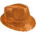 Bulk Orange Hats | Bulk Orange Fedoras | 18000 Adult Size