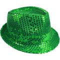 Bulk Green Hats | Bulk Green Fedoras | 18003 Adult Size