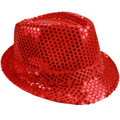 Bulk Red Hats | Bulk Red Fedoras | 18004 Adult Size