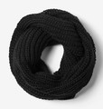 Wholesale Black Scarf | Concord Knit Infinity Scarf | 12 PACK 2044D