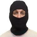 12PK Face Mask Black One Hole 3053D