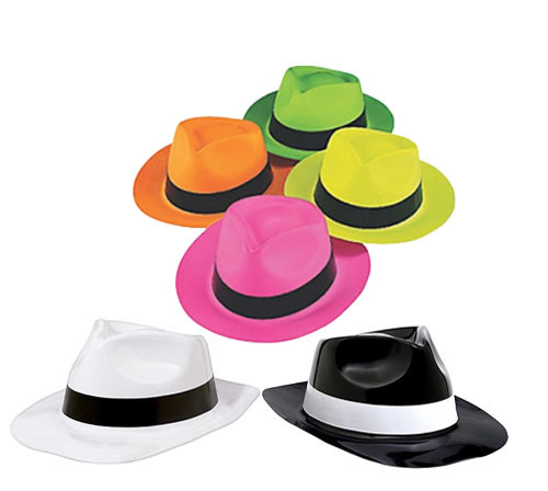 1af18afccf0fa Plastic Fedora Hats