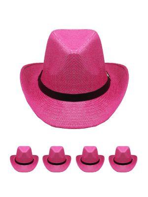 Pink Cowboy Hats Bulk  2e49630072d