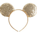 Gold Mickey Ears | Disney World Mickey Ears |  15003G