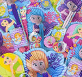 50 PCS MERMAID PARTY FAVOR ASSORTMENTS M2005