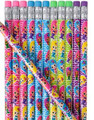 "24 PACK 7.5"" MERMAID PENCILS M2008"