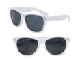 Kids Sunglasses White Wayfarer | 100% UV 400 12 PACK 13004