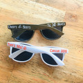 50th Birthday Party Custom Sunglasses | 50s Birthday Personalized Sunglasses ( Fonts in Picture Gallery)