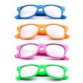 12 PACK Silver Mirror Lens Wayfarer Mixed Colors 1064DS