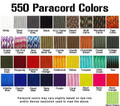 550 Paracord Type III MIL-C-5040 Paracord Many Colors 25 Feet - 302400