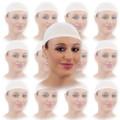 "White Hair Nets Bulk | 100 Pack 12"" Width for Foodservice 217EF"