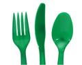 Green Plastic Utensils, 48-ct. Packs 3856UG