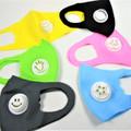 Kids Face Masks Reinforced Polyester/Spandex Masks w/ Vent 12 PACK Neon Colors 70001NKC