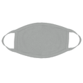 Gray Face Masks Cotton |  12 PACK | Adult Size Double Ply Soft Cotton 134GR