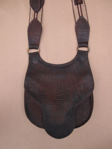 front flap of bag