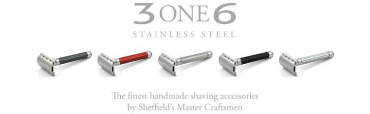See the new 3ONE6 Stainless Razors below...