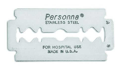 Personna Medical Prep Double Edge Razor Blades