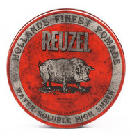 Reuzel RED Pomade - High Sheen, Water-Based