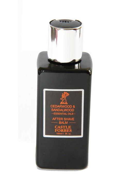 Castle Forbes Cedarwood & Sandalwood Essential Oil Aftershave Balm