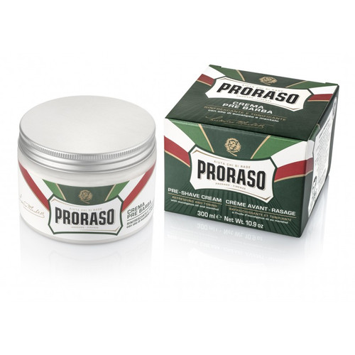Proraso Pre & Post-shave Cream - Refreshing and Toning (Green) - 10.1 oz.