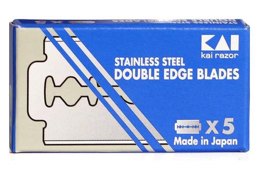 KAI Stainless Steel Double Edge Razor Blades