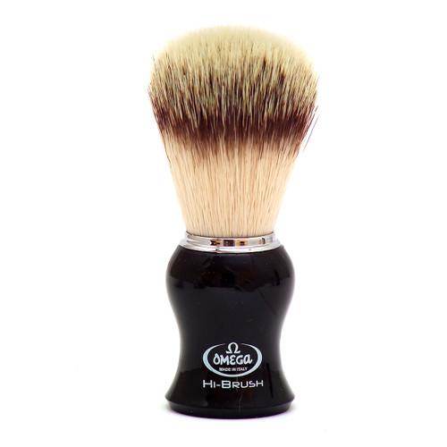 Omega 0146206 HIBRUSH Synthetic Shaving Brush