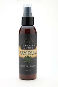 Captain's Choice BAY RUM Shave Balm