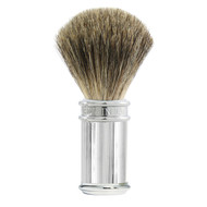 Edwin Jagger Pure Badger Shaving Brush - Chrome Lined handle 81SB89L11