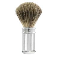 Edwin Jagger Pure Badger Shaving Brush - Chrome Lined handle 81SB89L11