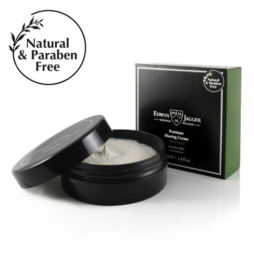 Edwin Jagger Shaving Cream Jar - Aloe Vera