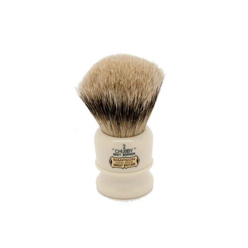 Simpsons Chubby 2 Best Badger Shaving Brush