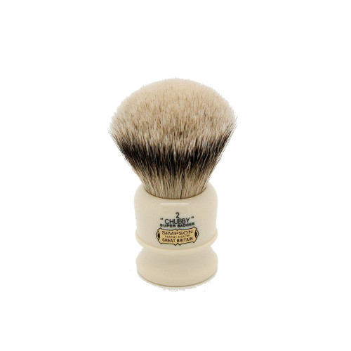 Simpsons Chubby 2 Super Badger Shaving Brush