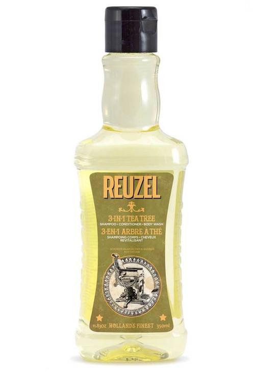 Reuzel 3-in-1 Tea Tree Shampoo and Body Wash