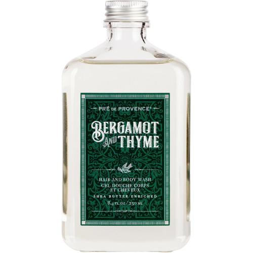 Pre de Provence Bergamot & Thyme Hair and Body Wash