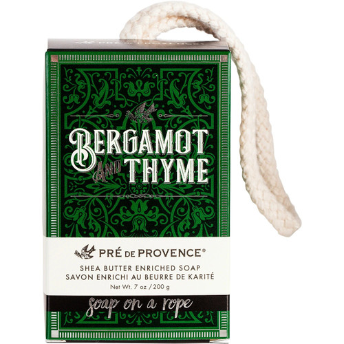 Pre de Provence Bergamot & Thyme Soap On A Rope