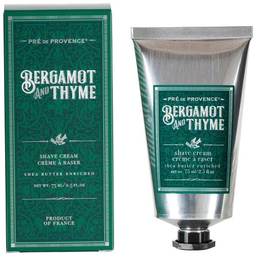 Pre de Provence Bergamot & Thyme Shave Cream