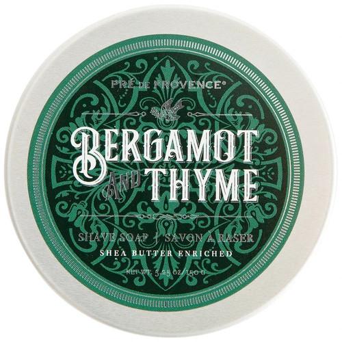 Pre de Provence Bergamot & Thyme Shave Soap