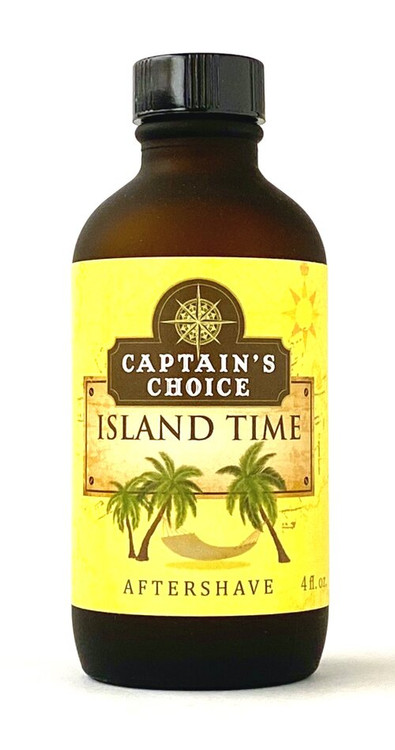 Captain's Choice ISLAND TIME Aftershave