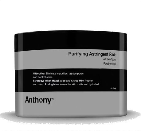 Anthony Logistics Purifying Astringent Pads