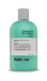 Anthony Logistics Invigorating Rush Hair + Body Wash