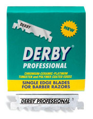 Derby Professional Single Edge Razor Blade