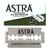 Astra Superior Platinum Double Edge Razor Blades (Green)