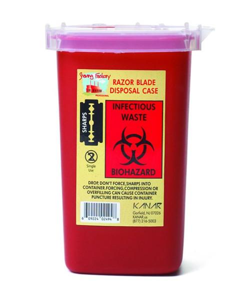 Shaving Factory Blade Disposal Case