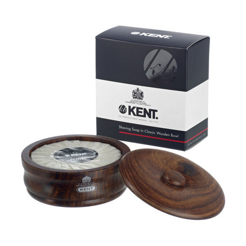 Kent SB3 Shaving Bowl Dark Oak