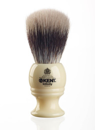 Kent Infinity Shaving Brush with Silvertex INF1