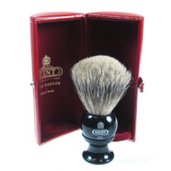 Kent Pure Grey Badger Shaving Brush - BLK2