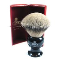 Kent King-Sized Pure Silver Tip Badger Shaving Brush - BLK12